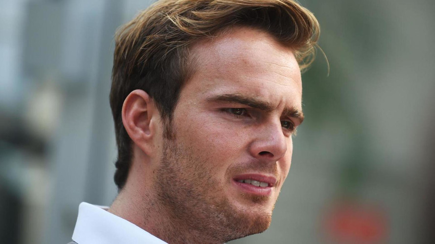 Van der Garde admits 'F1 dream probably over'