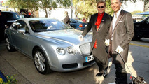 Bentley Continental GT and Sir Elton John