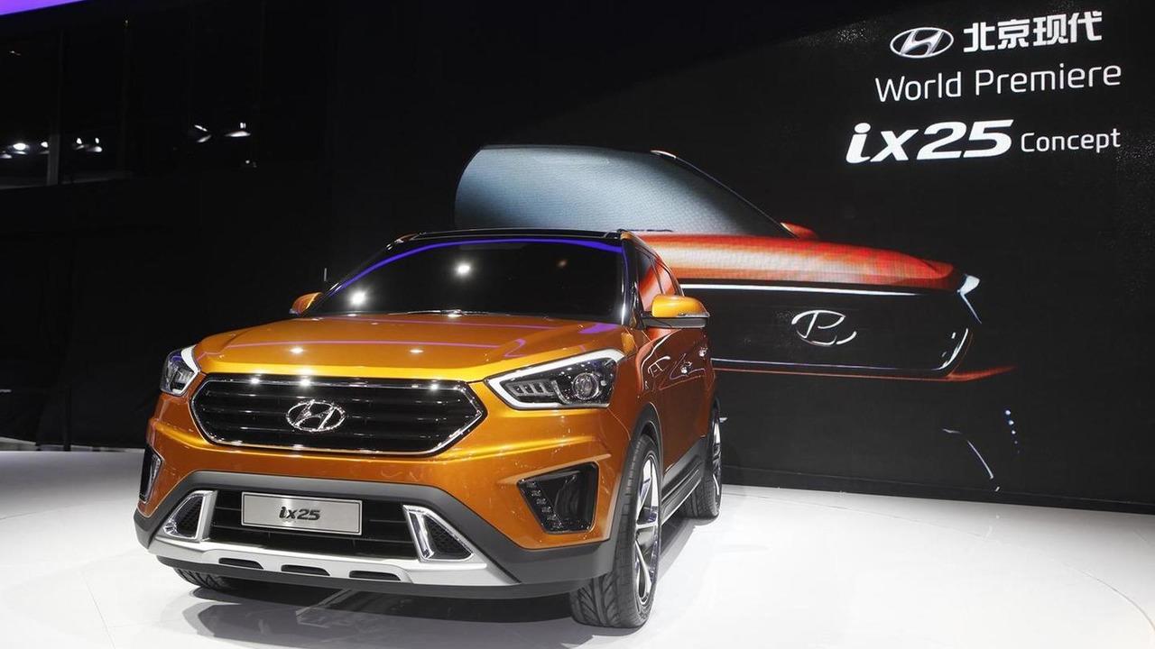 Hyundai ix25 concept at 2014 Beijing Motor Show