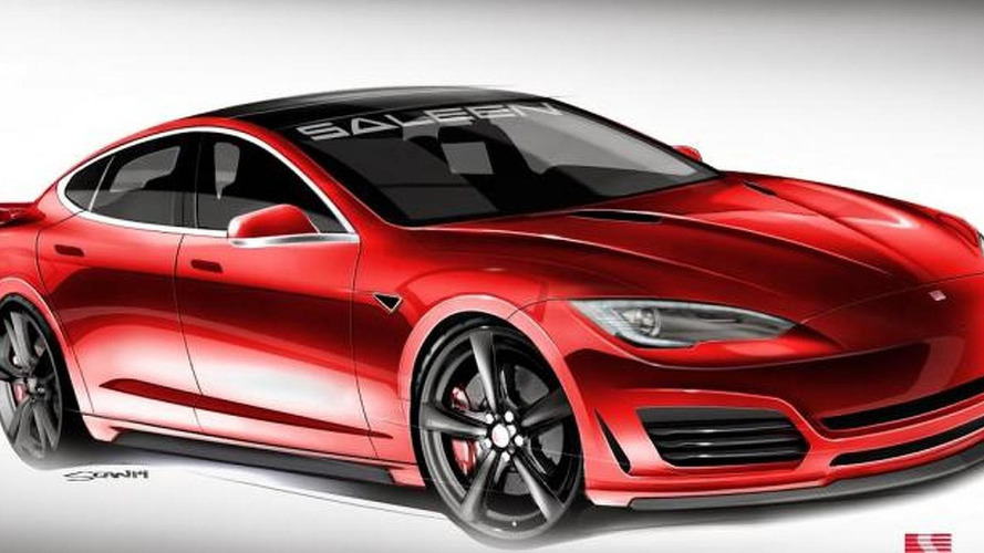 Tesla Model S by Saleen design sketches released