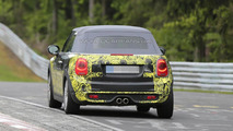 2015 MINI Cooper S Cabrio spy photo