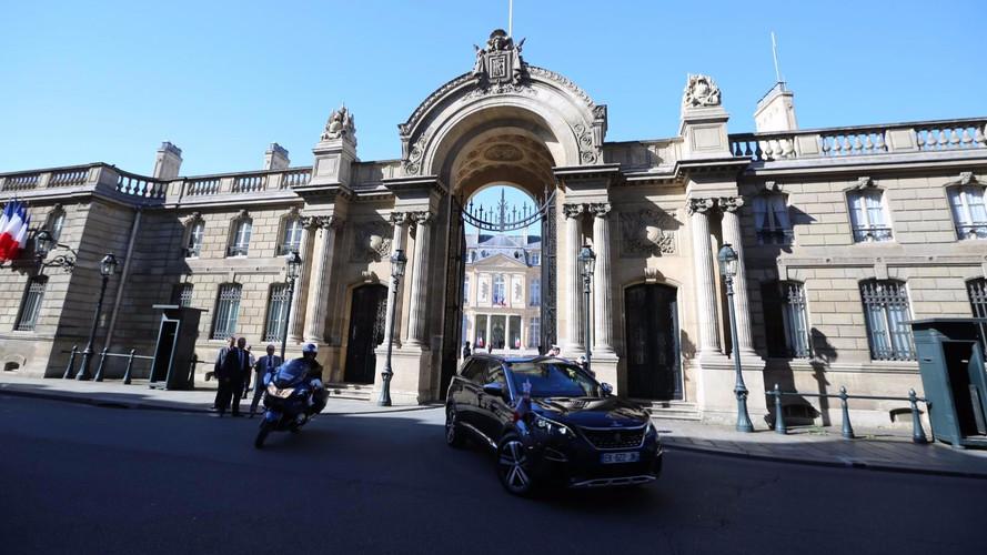 Peugeot 5008 présidentielle