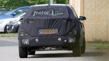 Hyundai Kona eléctrico fotos espía