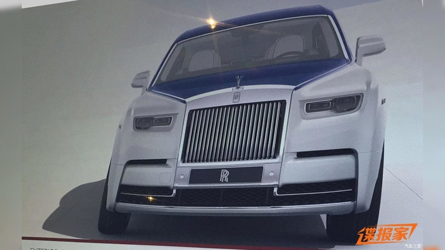 2018 Rolls-Royce Phantom Leaks Via Brochure?