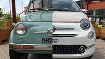 Fiat 500 old vs new