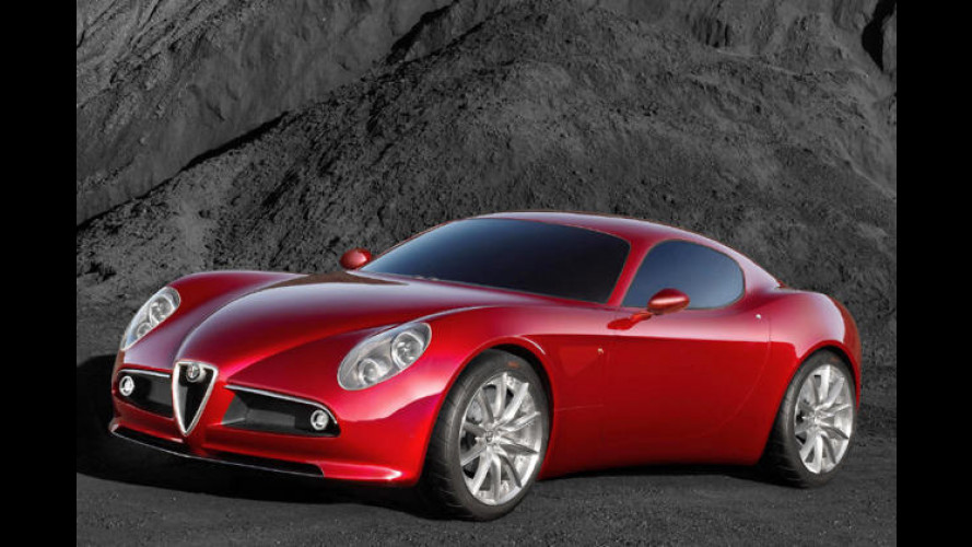 Alfa 8C Competizione: Weltpremiere für rassigen Italo-GT