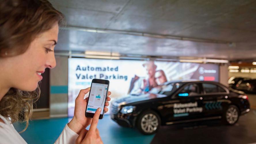 Mercedes Demonstrates Driverless Valet In Multi-Level Car Park