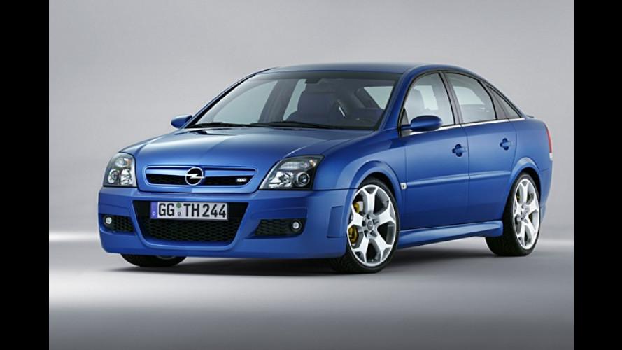 Opel Vectra OPC: Studie mit Hochleistungs-Turbodiesel