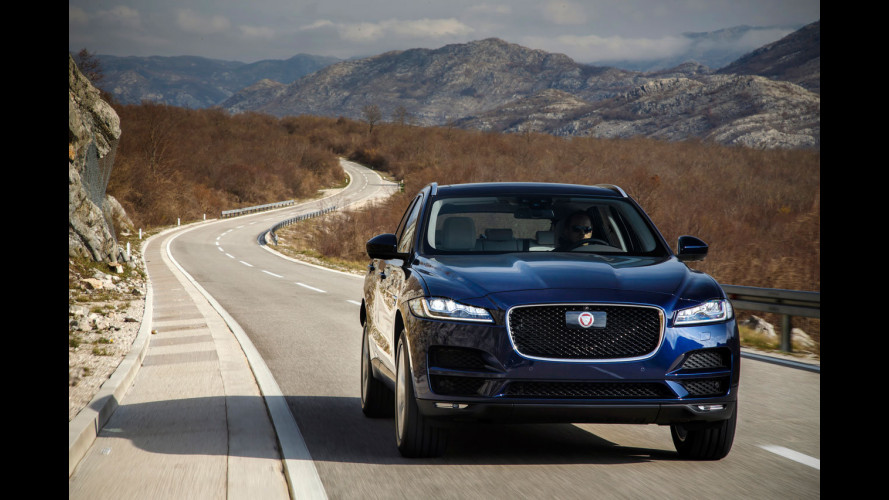 Jaguar F-Pace è World Car of the Year 2017