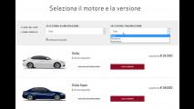 Alfa Romeo Giulia, il configuratore