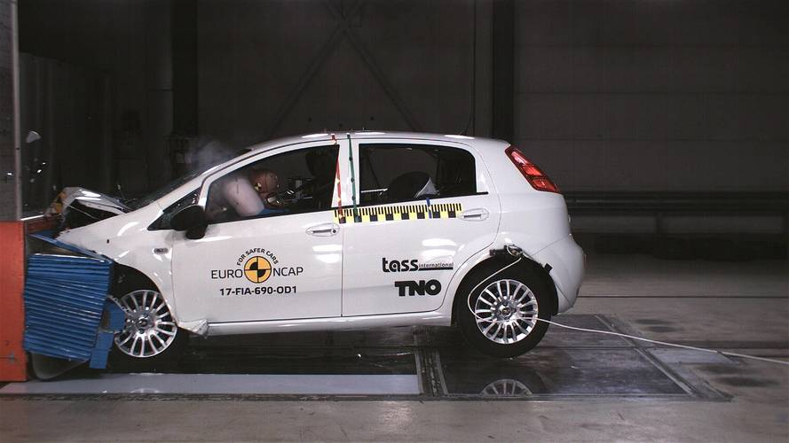 Fiat Punto Gets Zero Stars In Euro NCAP Crash Test