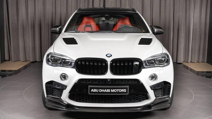 Une BMW X6 M 3D Design à Abu Dhabi