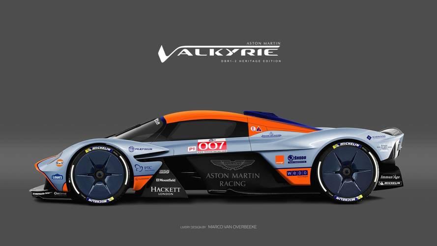 Aston Martin Valkyrie 2018, ¿con qué decoración te quedarías?