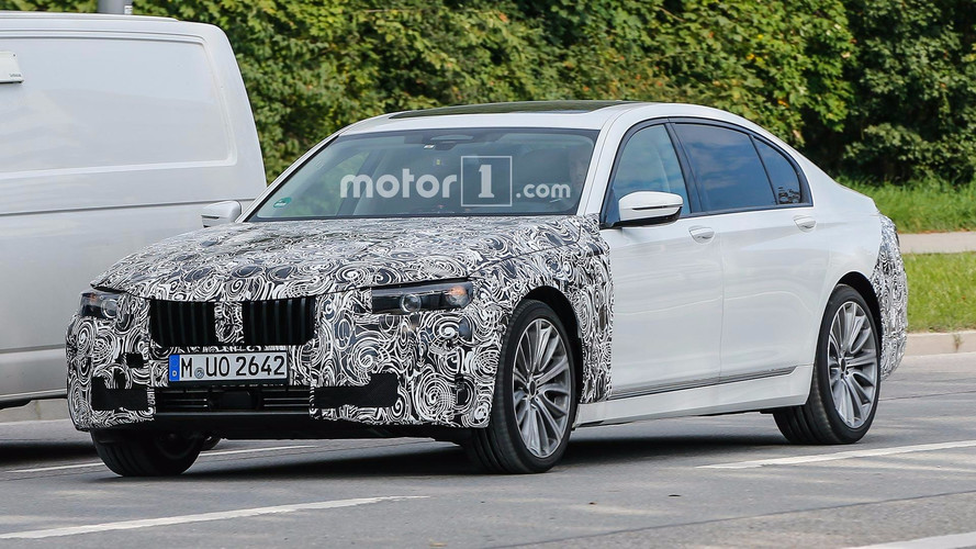 Fotos espía BMW Serie 7 2018