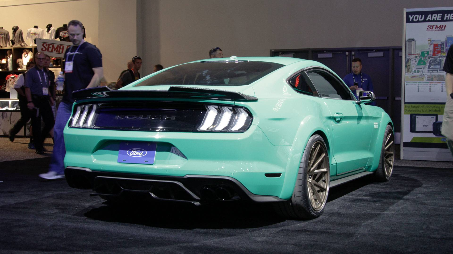 2018 ford mustang roush. 2018 ford mustang 729 wide body triathlete by roush performance | motor1.com photos s