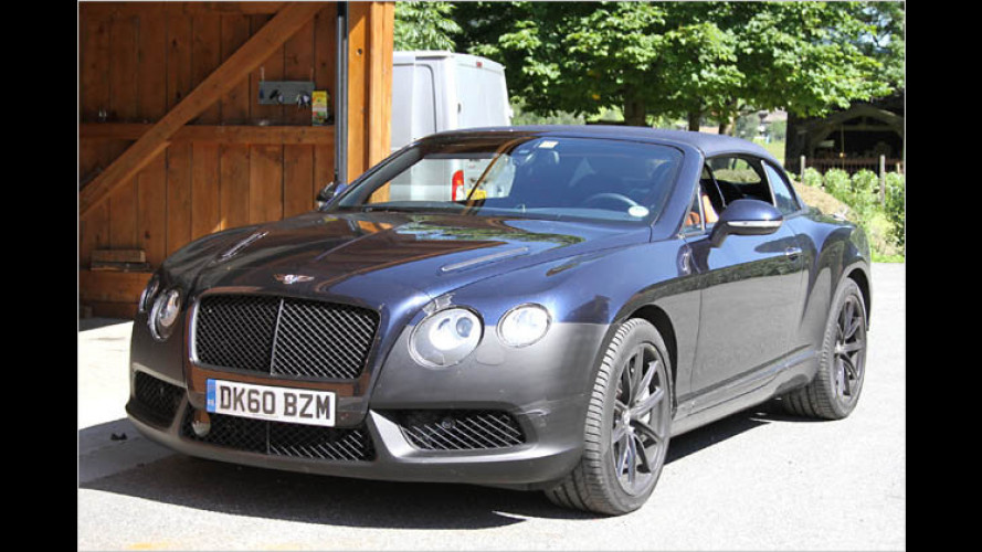 Bentley-Erlkönig: Der Continental GT bekommt Gesellschaft