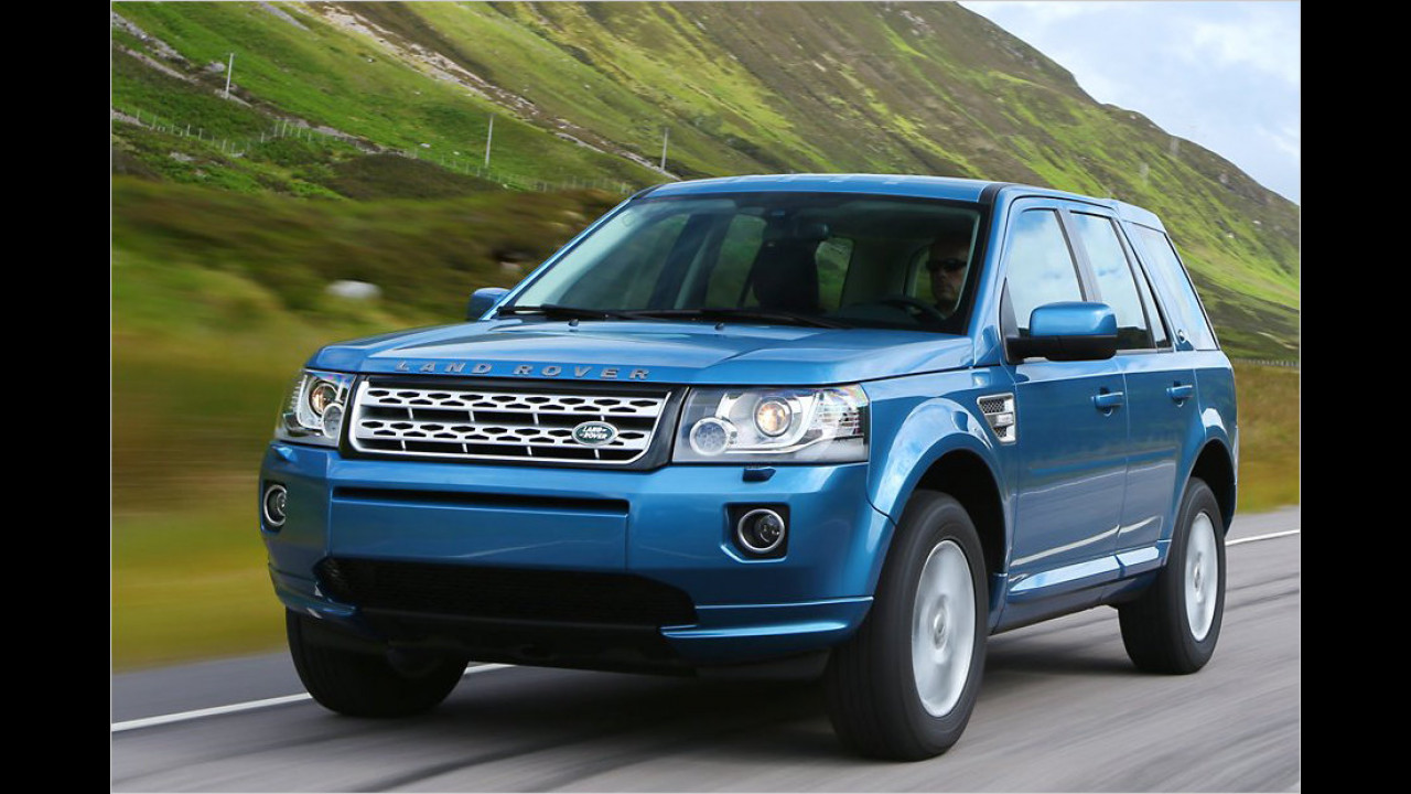 Land Rover Freelander Facelift