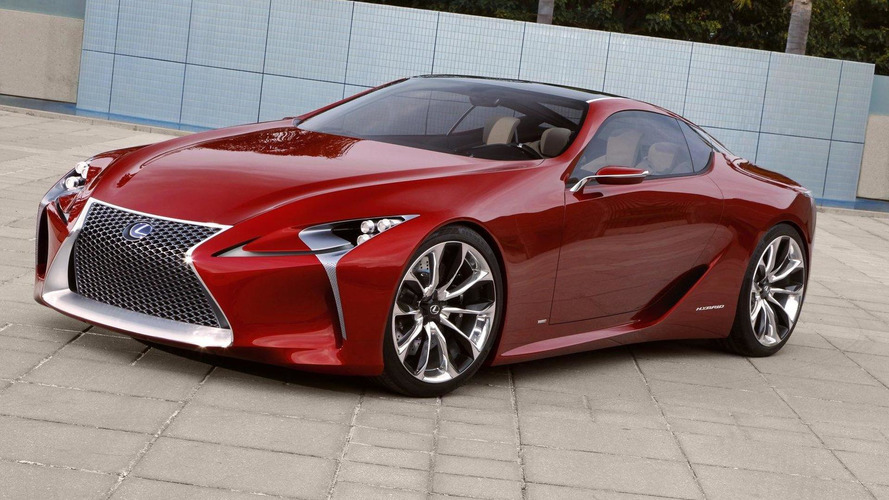 Lexus LF-LC concept almost certain for production - report