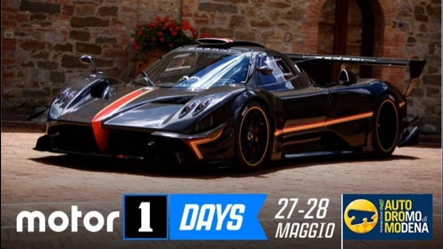 Motor1Days, gli Hot Lap in pista con Pagani Zonda Revolucion