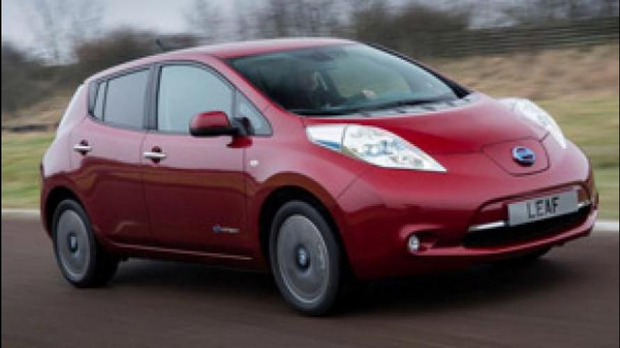 Nissan Leaf raggiunge il record di 100.000 unità vendute
