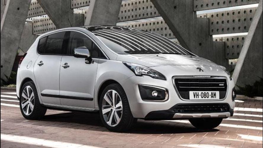 Peugeot Hybrid4 e la tecnologia da 85 g/km di CO2