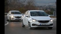 Nuova Opel Astra GSi, foto spia