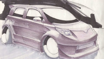 Scion xD Elite Concept by Team Auto at SEMA