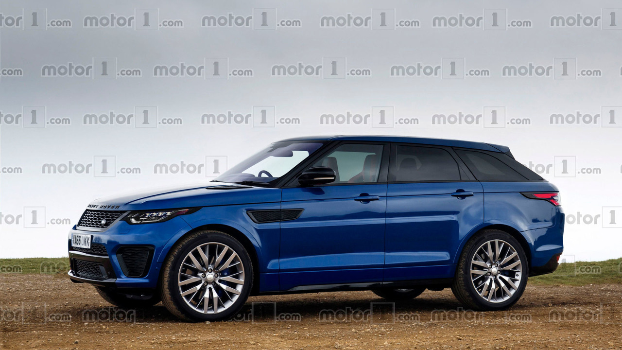 range rover sport coupe render won 39 t leave you indifferent. Black Bedroom Furniture Sets. Home Design Ideas
