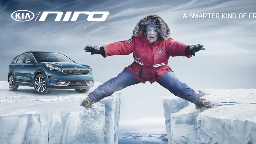 Kia Niro is bad luck for Melissa McCarthy in Super Bowl ad
