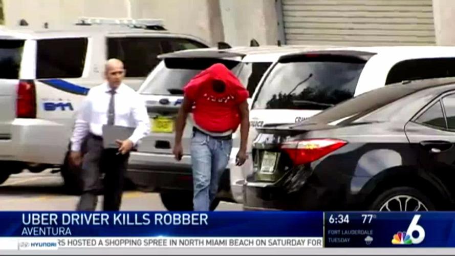 Uber having a bad week as drivers shoot robber and stab passenger
