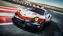2017 Porsche 911 RSR Le Mans racer goes mid-engine