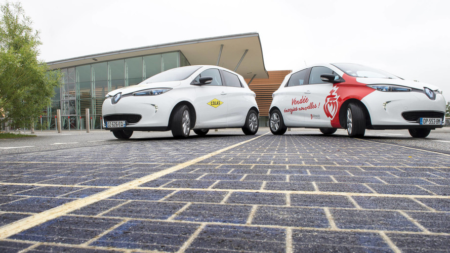France opens world's first solar panel road