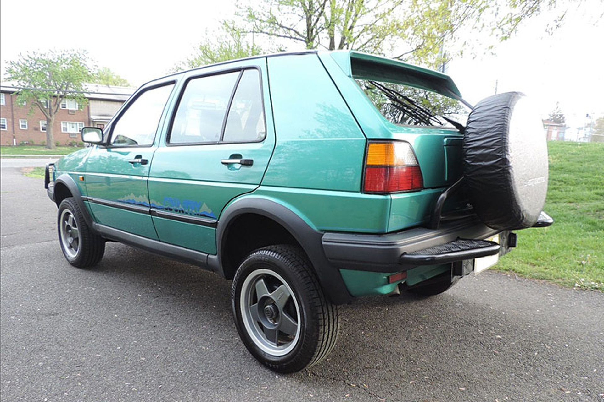 Meet the Rare Volkswagen Golf 4x4 You Didn t Know Existed
