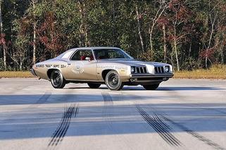 1973 Pontiac Grand Am Silver Anniversary Headed Under the Hammer