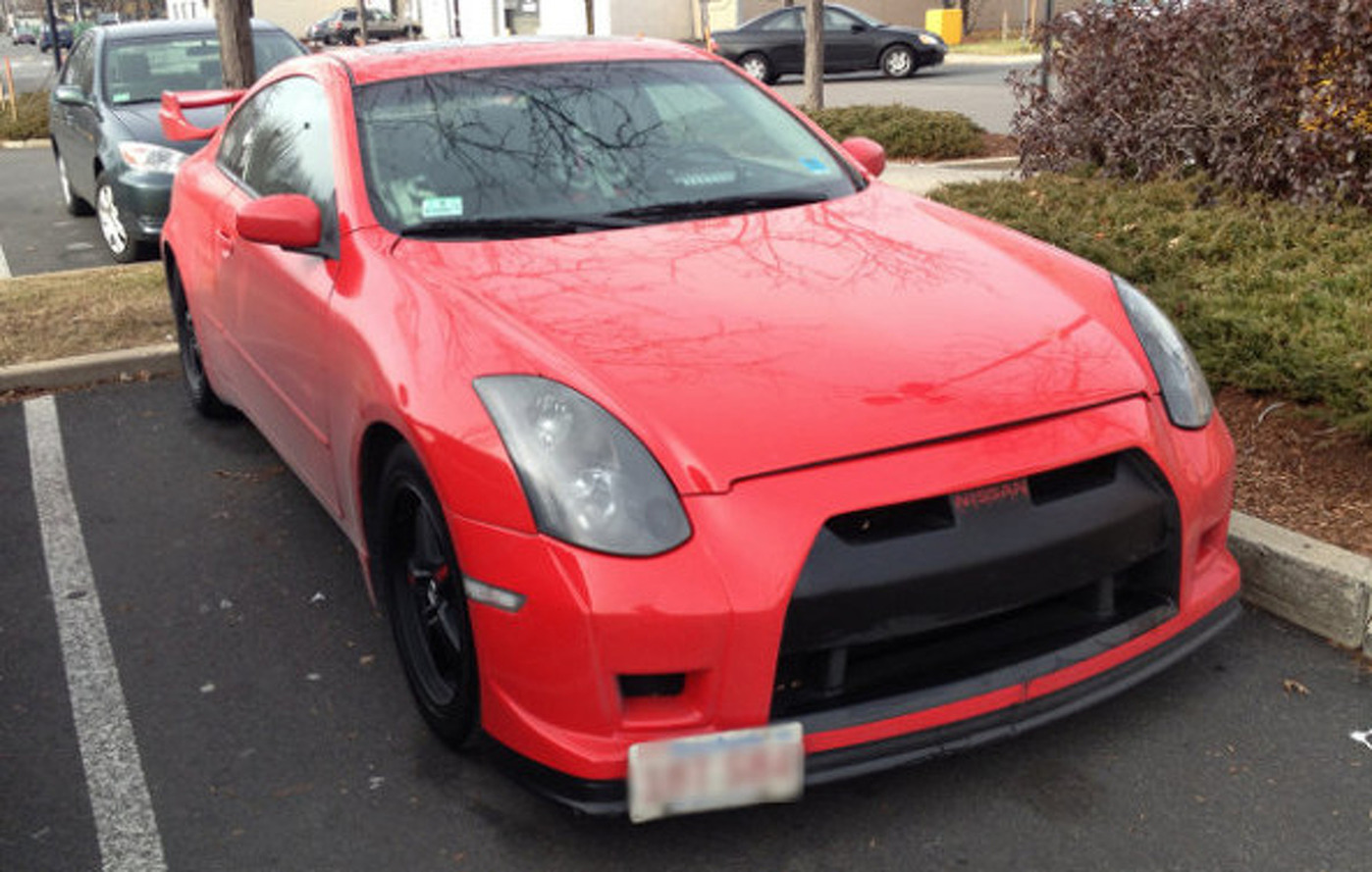 This Infiniti G35 Thinks It's a Nissan GT-R