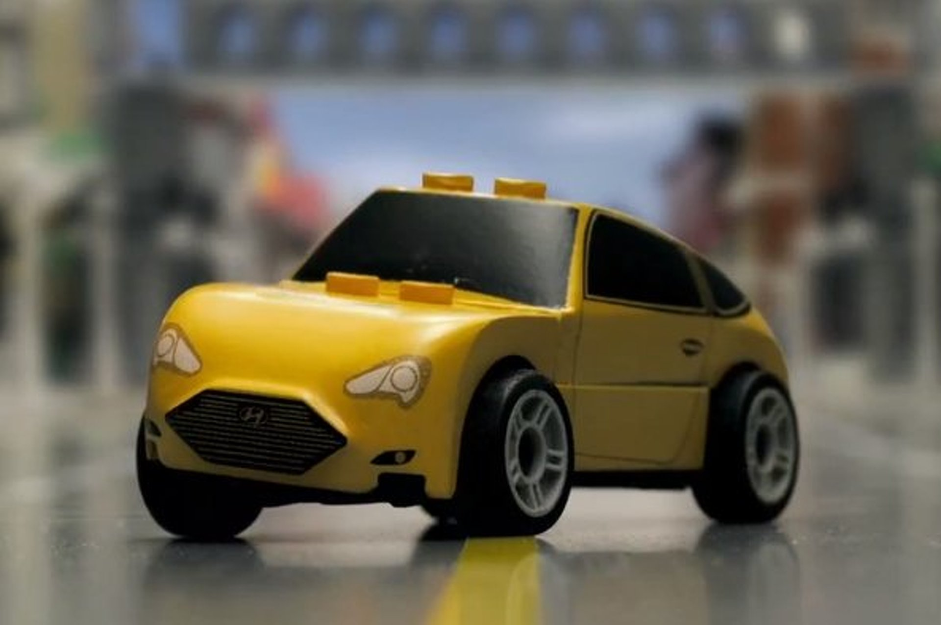 Video: Hyundai Veloster Turbo Goes LEGO in Stop-Motion Ad