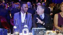 Lewis Hamilton, Mercedes AMG F1 with Jean Todt, FIA President