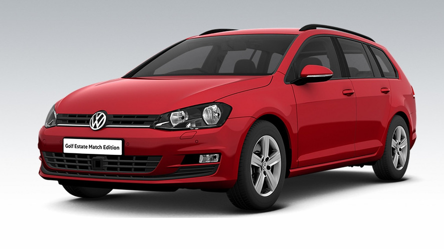 VW Golf Estate Match Edition for U.K. brings £1,875 savings
