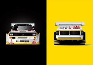 Rally Art: Gorgeous Car Art Celebrates Rally, F1 Racing