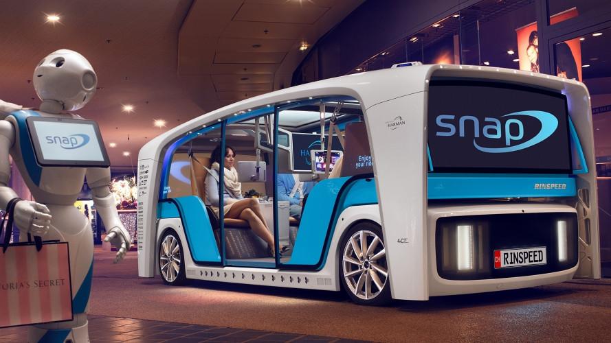 Rinspeed Snap, la concept svizzera che arriva dritta dal futuro