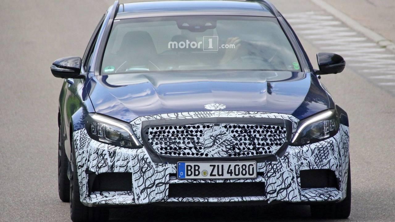 2019 Mercedes-AMG C63 Wagon spy photo
