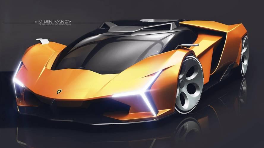 Lamborghini Concepto X render: ¿anticipo de los 'Lambo' del futuro?