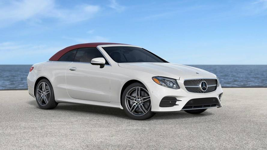 Most Expensive 2018 Mercedes-Benz E400 Cabriolet Costs $96,395