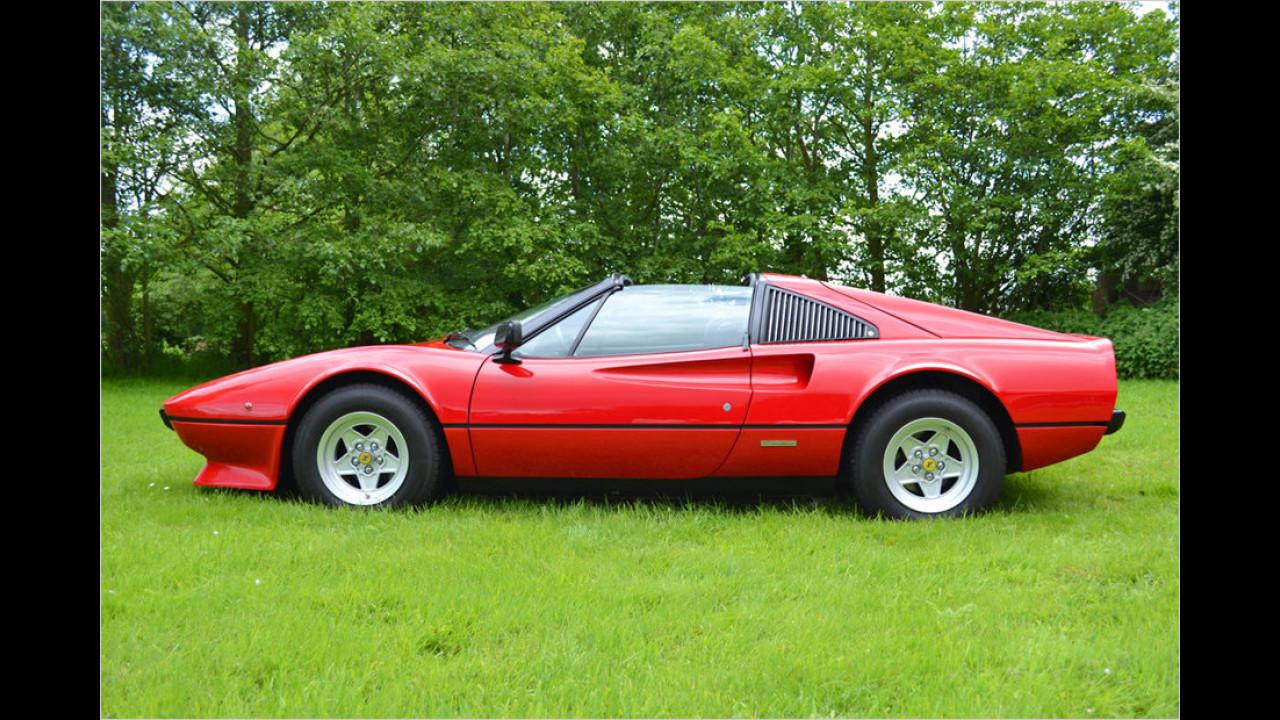 Ferrari 308 GTS: Die schrillen Vier auf Achse (1983), Auf dem Highway ist die Hölle los (1981)