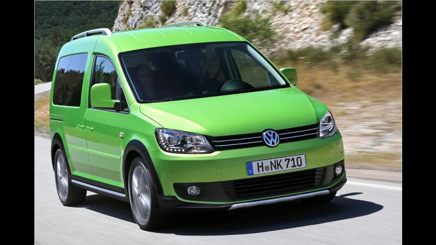 Individualisierte Exterieur-Elemente verleihen dem Volkswagen-Lastesel einen Offroad-Look
