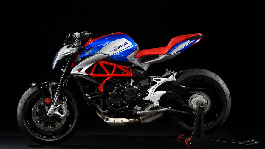 Latest MV Agusta is Red, White, And Brutale