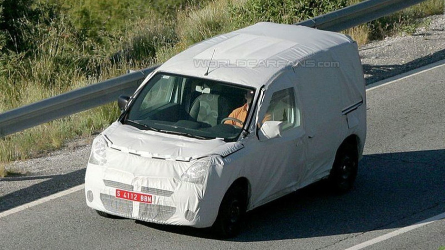 Renault Kangoo & Citroen Berlingo Spy Photos