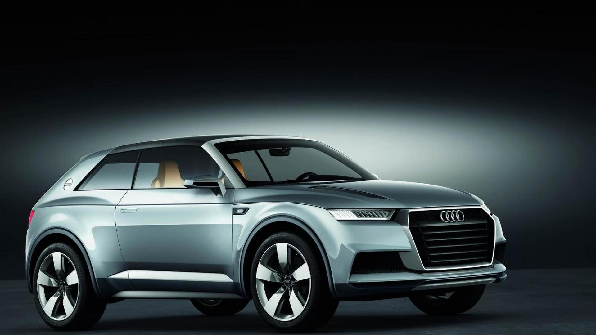 Audi trademarks SQ2 SQ4 Q9 and f tron