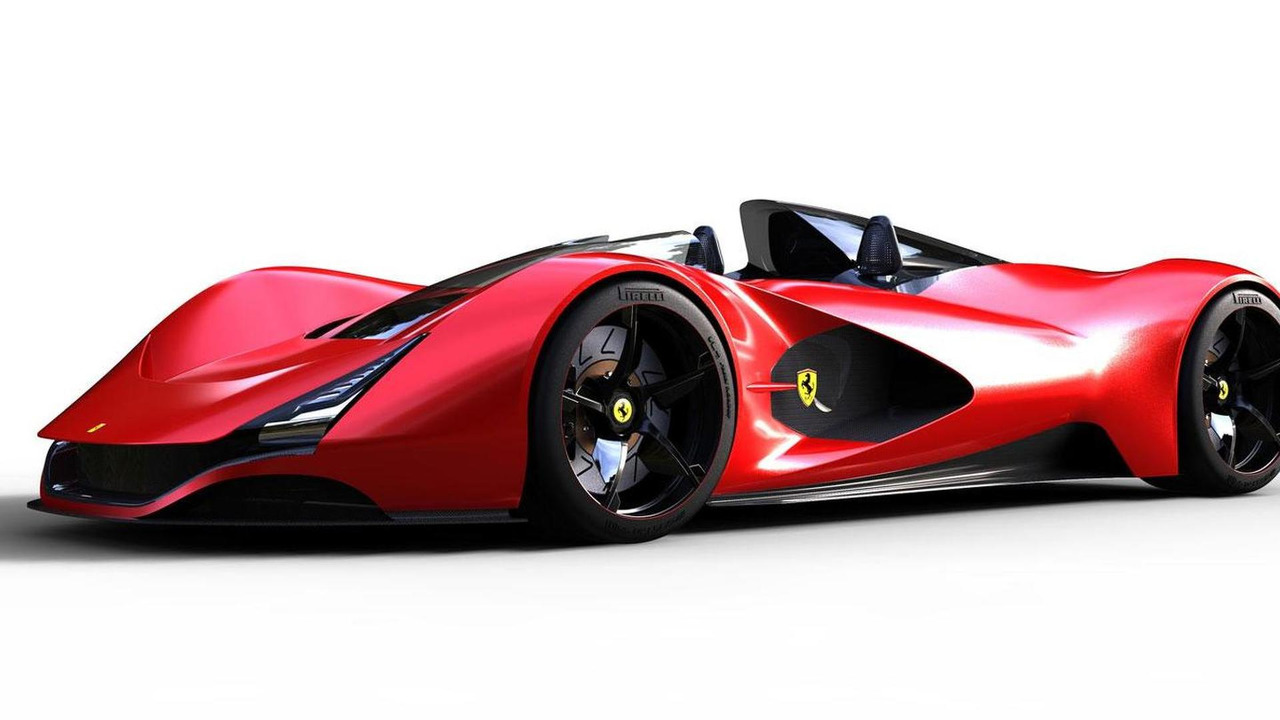Ferrari Aliante Concept design study