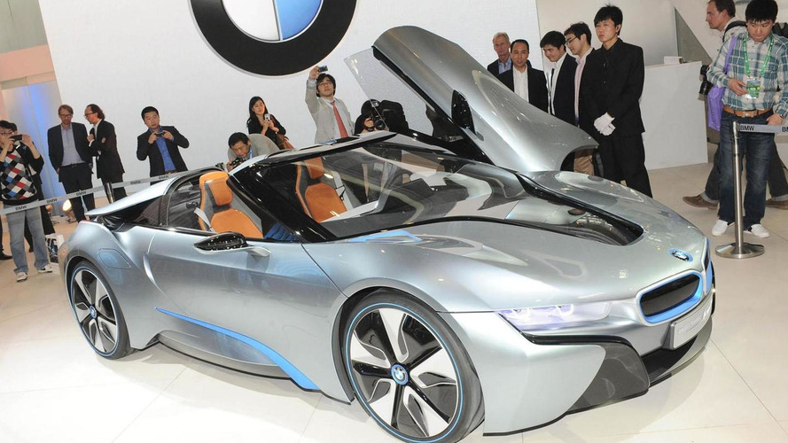 BMW i8 Concept Spyder debuts in China - announces eDrive badge